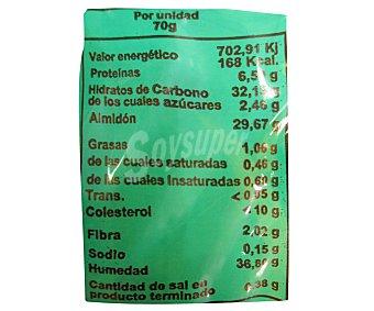 EL ANTEQUERANO Medio mollete de antequera (tostar 2 minutos y listo) 130 gramos