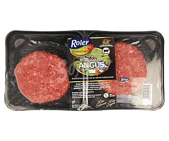 Roler Burger meat de vacuno novillo raza angus Summumm de 2 unidades de 120 g