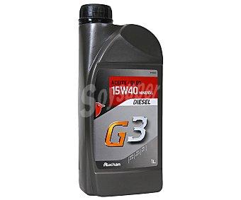 Auchan Aceite mineral para vehículos diésel, G3 1 Litro
