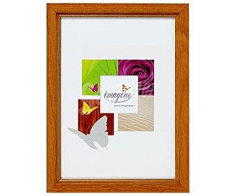 IMAGINE Portafotos de color nogal modelo Primo, para fotografias de tamaño 13x19 1 Unidad