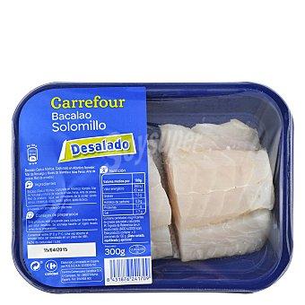 Carrefour Solomillo de bacalao desalado 300 g