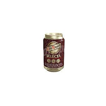 San Miguel Cerveza selecta Lata de 33 cl