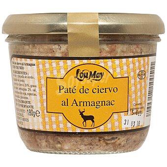 LOU MAY Paté de ciervo al armagnac Tarro 180 g