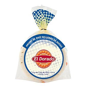 El Dorado Arepa maiz rellena de queso 4 ud