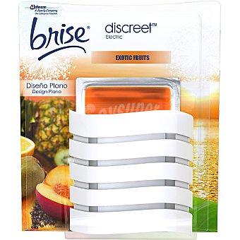GLADE Brise Discreet Ambientador eléctrico Exotic Fruit diseño plano aparato + recambio