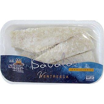 Supermar Ventresca de bacalao Bandeja 400 g