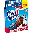 Brownie de chocolate intenso 6 unidades envasadas individualmente Paquete 150 g Chips Ahoy
