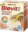 Papilla instantánea de 5 cereales a partir de 5 meses plus Caja 600 g Blevit