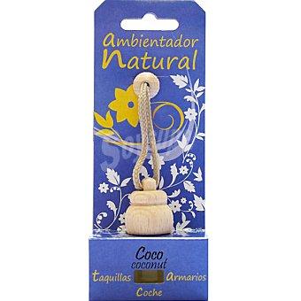 S&S Ambientador natural para pequeños espacios aroma coco Envase 1 unidad