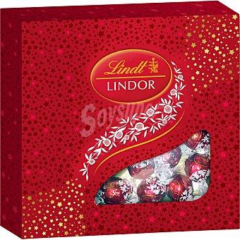 Lindt Bombones de chocolate con leche Lindor Rubí estuche 212 g