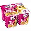 Yogur desnatado tropical Pack 4x115 g CLESA