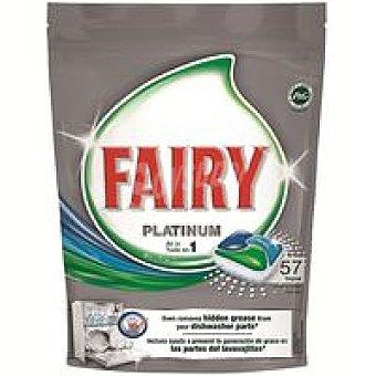 Fairy Lavavajillas máquina Platinum Bolsa 57 dosis