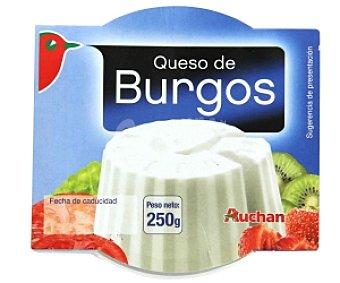 Auchan Queso fresco de Burgos 250 Gramos