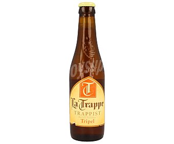 La Trappe Triple cerveza rubia holandesa  Botellín 33 cl