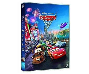 ANIMACIÓN Película en Dvd Cars 2, Disney, género: infantil, familiar, animación. Edad: TP