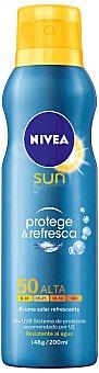 Nivea Sun Spray bruma solar protege & refresca FP 50 200 ml