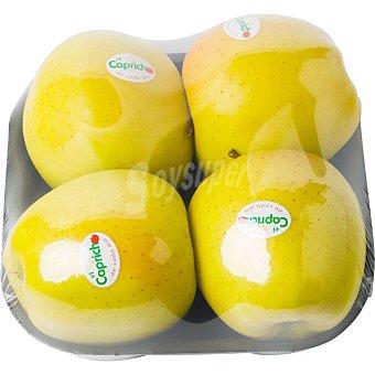 Capricho Manzana golden montaña bandeja 900 g peso aproximado Bandeja 900 g