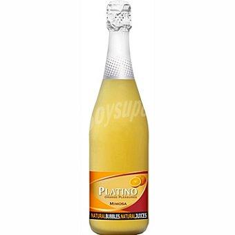 Platino vino espumoso naranja  botella 75 cl