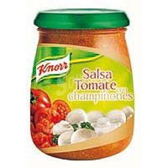 Knorr Salsa de tomate con champiñon Tarro 260 g