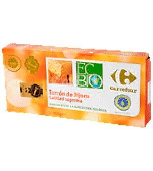 Carrefour Bio Turrón jijona 300 g.