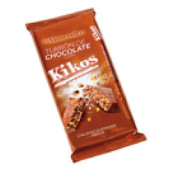 El Almendro Turron de chocolate con kikos 150 gr