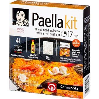 CARMENCITA Kit para paella envase 415 g