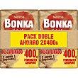 Café descafeinado molido 2x400 paquete 800 g Bonka Nestlé