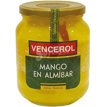 Vencerol Mango en almíbar Frasco 400 g neto escurrido