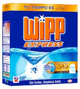 Wipp Express Detergente en polvo 48 cacitos