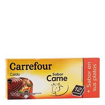 Carrefour Caldo de carne en pastillas 120 g