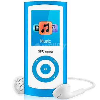 "SPC TELECOM 8464 Productor de MP4 de 4 GB con pantalla de 1,8"" color azul"