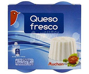 Auchan Queso fresco Pack de 2 unidades de 250 gramos
