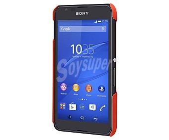 MADE FOR XPERIA Carcasa trasera Naranja, válida para Sony Xperia E4. (teléfono no incluido) 1 unidad