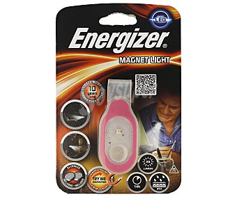 Energizer Linterna con 1 Led, cuerpo magnético, resistente a las salpicaduras y funcionamiento a pilas 2xCR2032 (incluidas) 1 unidad