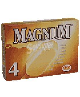 Magnum Frigo Helado blanco. 480 ml 4 U