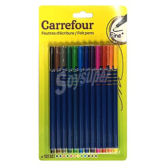 Carrefour Pack Rotulador 0,4 12 ud