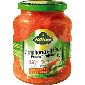 Kühne Zanahoria rallada para ensalada Frasco 190 g neto escurrido