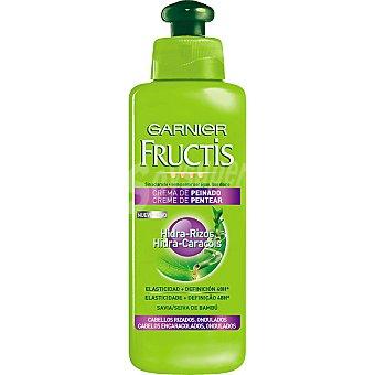 Fructis Garnier Crema suavizante sin aclarado hidra-rizos Frasco 200 ml