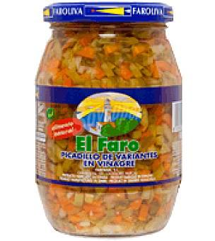 El Faro Picadillo de variantes en vinagre 200 g