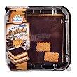 Tarta de la abuela con galletas chocolate y nata 10 raciones (cuadrada) pasteleria congelada 1 u - 825 g Granderroble