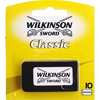 Wilkinson Classic recambio de maquinilla de afeitar Estuche 5 unidades
