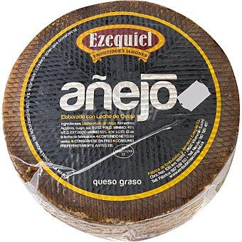 Ezequiel queso curado de oveja 100% leche cruda añejo peso apróximado pieza 1,2 kg