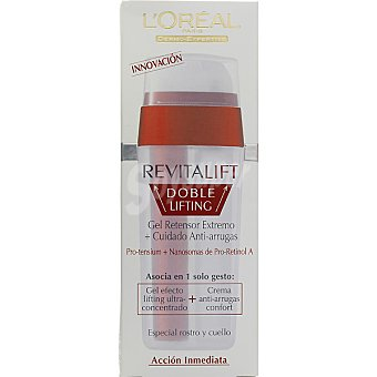 Revitalift L'Orèal Paris Crema anti-arrugas hidratante doble lifting dosificador 30 ml
