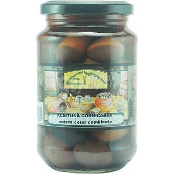 Encurtidos Murcianos Aceitunas cornicabra Frasco 205 g neto escurrido