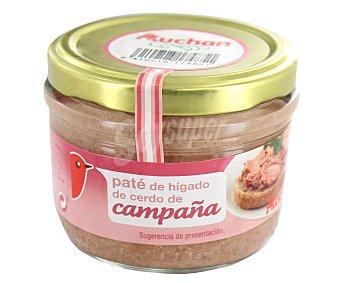 Auchan Paté de campaña, tarro 125 gramos