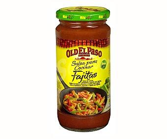 Old el Paso Salsa cocinar fajita Tarro 395 g