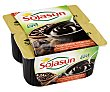Especialidad de soja con sabor a chocolate intenso 4 x 100 gr Sojasun