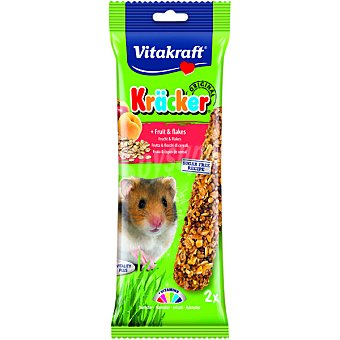 Vitakraft Barritas para hámster con fruta Paquete 2 unidades