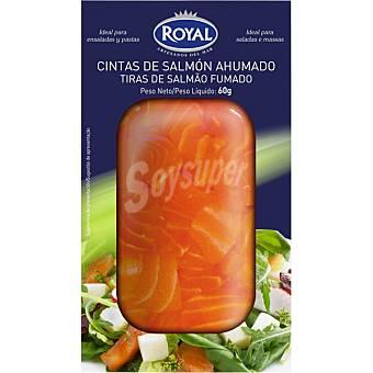 Royal Cintas de salmón ahumado Envase 60 g