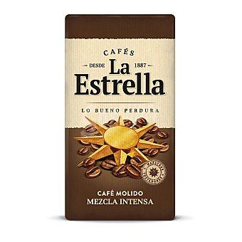 La Estrella Café molido mezcla 50/50 Paquete 250 g